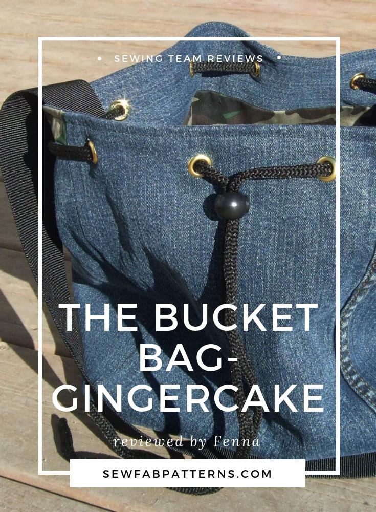 gingercake bucket bag