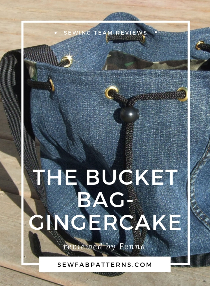 gingercake bucket bag