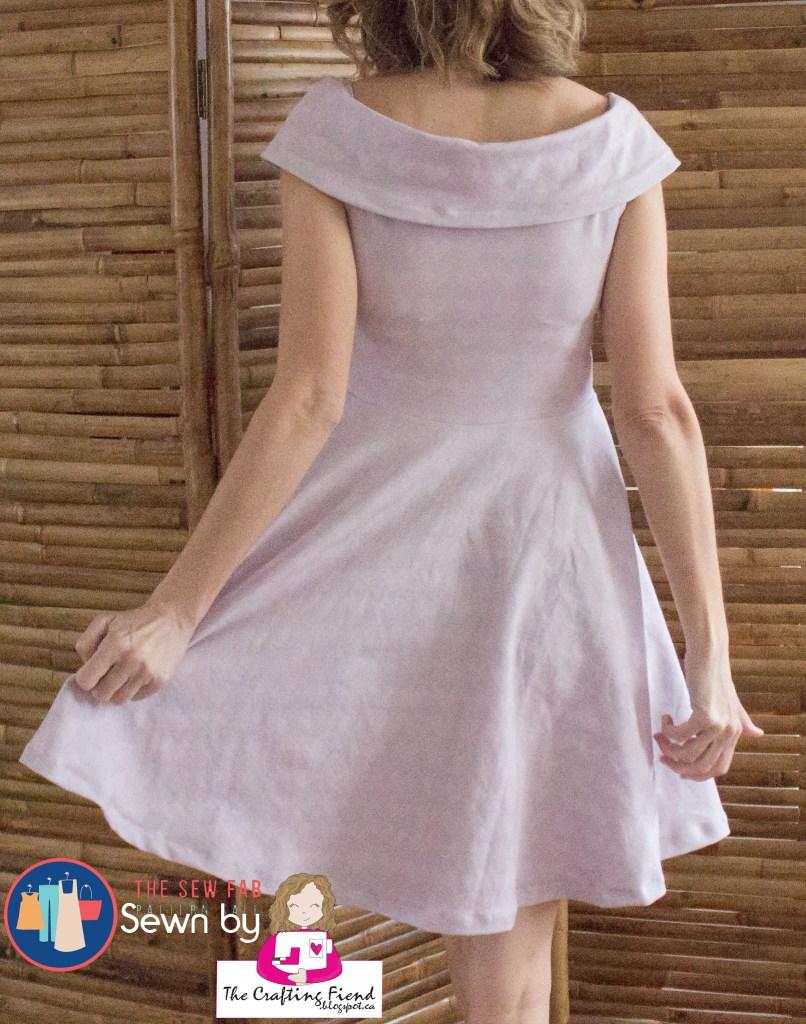 #204 spring dress back
