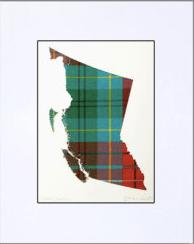 BC Tartan Map