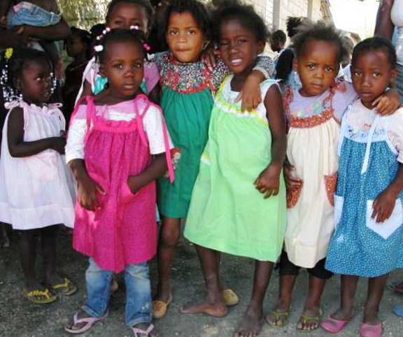 Little Dresses for Africa