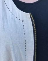 Day 27 zipper detail