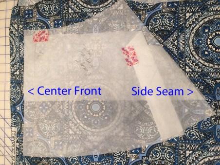 New Pattern on fabric