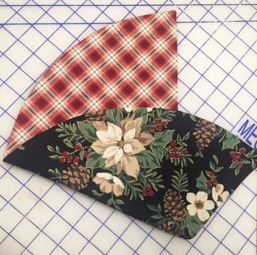 Napkin first fold