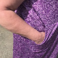MMM18 Meridian Dress pocket