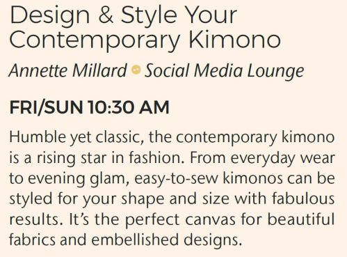 Design & Style Your Contemporary Kimono