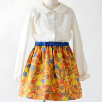 #3 【子供服レシピ】ロックミシンの要らない子供スカートの作り方