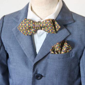 #5 パパのネクタイを子供の蝶ネクタイにリメイクする方法