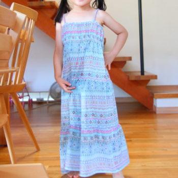 #15 【子供服レシピ】小学生の自由研究 親子で作るワンピース