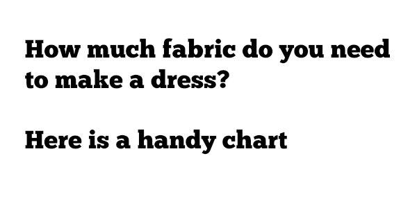 dress-chart