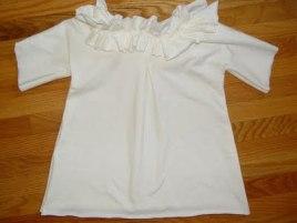 elizabethan collar tunic