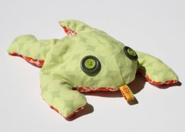 Tutorial And Free Pattern Frog Bean Bag Sewing