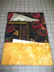 how to make a wallet from fabric