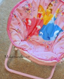 Tutorial Sew A New Cover For A Kid S Saucer Chair Sewing
