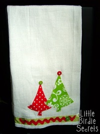 christmasappliqueteatowels
