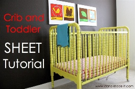 Tutorial Make A Fitted Sheet For A Crib Or Toddler Bed Sewing