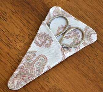 Tutorial Small Scissors Pouch Sewing