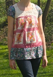 Free Pattern The Pretty Blouse For Summer Sewing