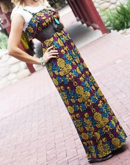 Tutorial Soho Maxi Dress Sewing