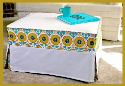 Tutorial Make A Slipcover For An Ottoman Sewing