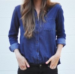 Idea file: Three ways to take in a button down shirt – Sewing