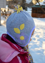 926eaac08 Tutorial: Fleece hat with ear flaps – Sewing