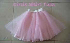 Circle skirt tutu