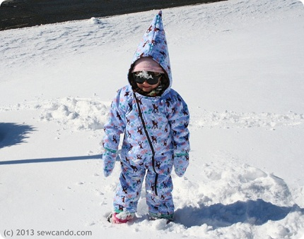 Sew Can Do Snowsuit