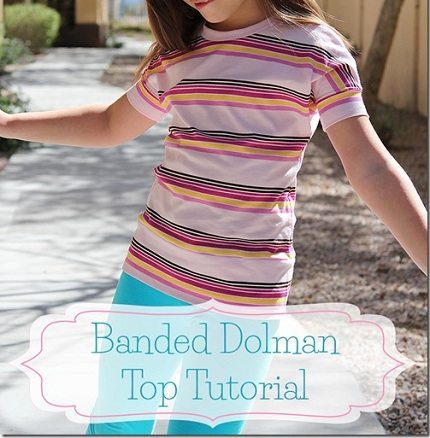 Banded Dolman Top Tutorial by the Crafty Cupboard_thumb