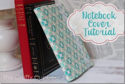 Tutorial Composition Notebook Cover With Elastic Strap