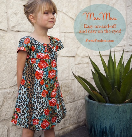 Free pattern: Summer MuuMuu for little girls