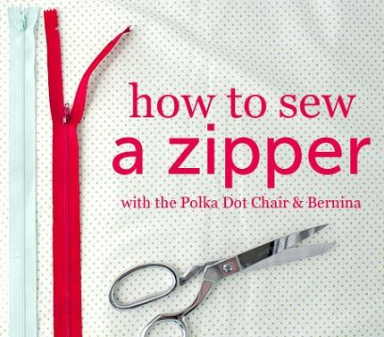 Tutorial: Centered zipper