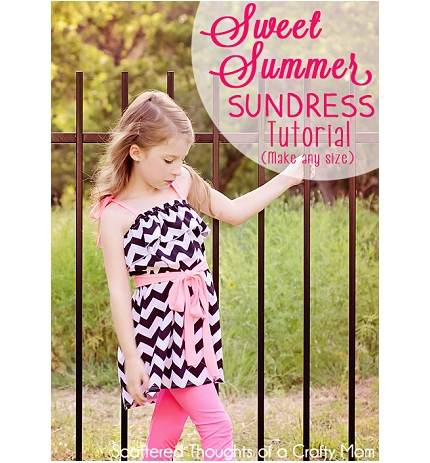 Tutorial: Easy ruffled sundress