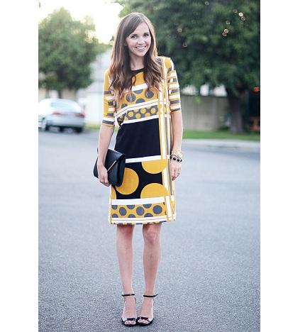 Sew a mod shift dress