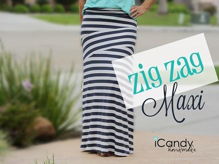 Free pattern: Zig Zag Maxi Skirt