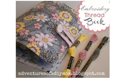 Embroidery Thread Book