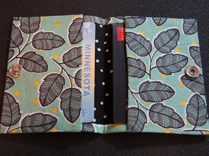 Tutorial: Grab and Go No-Sew Wallet