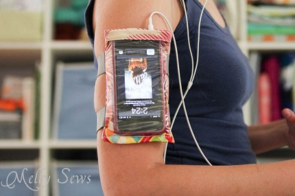 Tutorial Iphone Armband Case Sewing