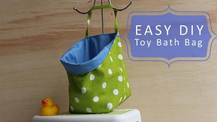Tutorial: Bath toy bag