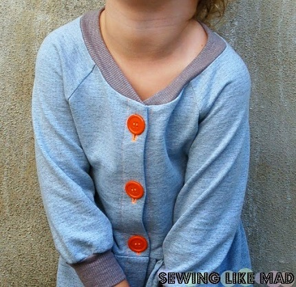 Tutorial: Add a button placket to a top or bodice pattern