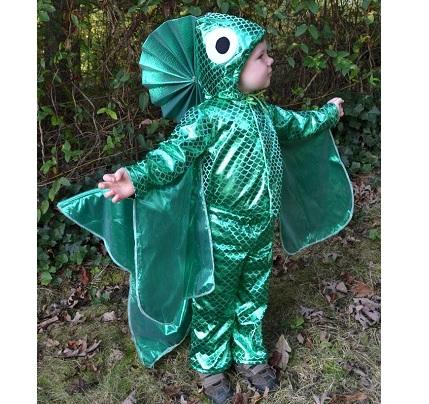 Tutorial: Fish Halloween costume for kids
