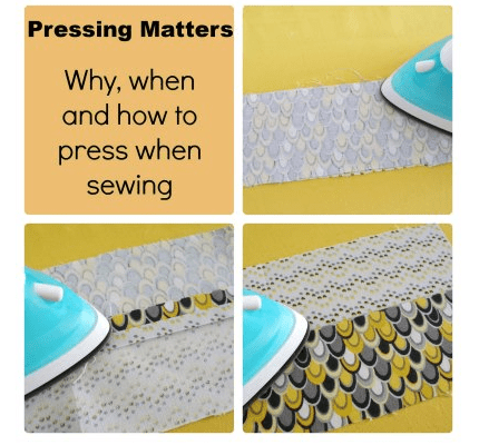 Deby tells why, when, and how to press your seams