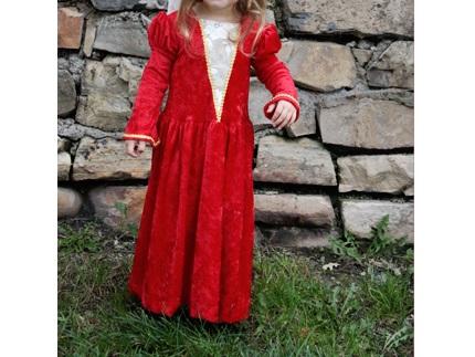 Tutorial: Little girl's princess costume