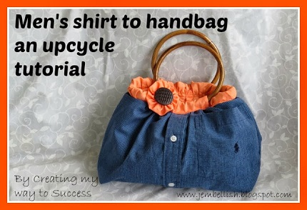 Tutorial: Make a bag from a button up shirt
