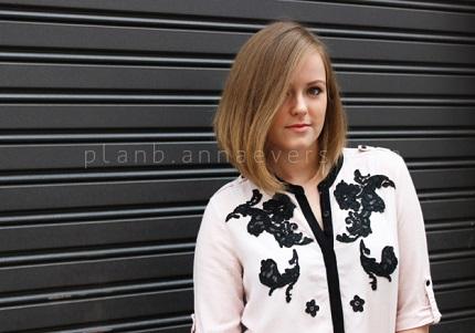 Tutorial: Lace applique shirt