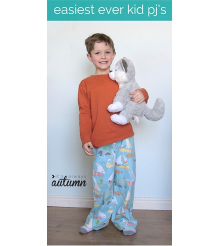 Tutorial: Easiest Ever Kid PJ's