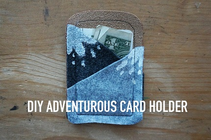 Tutorial: Mountaintop gift card holder