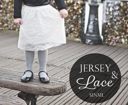 Tutorial: Little girl's lace skirt