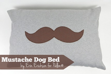 Tutorial: Dog bed with removable fleece cover
