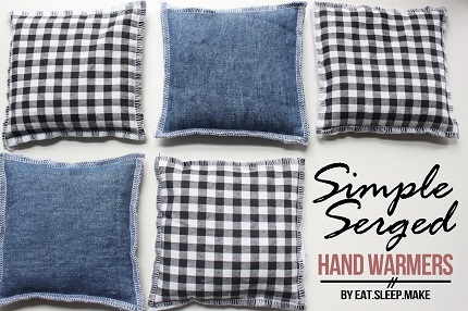Tutorial: Rice filled hand warmers